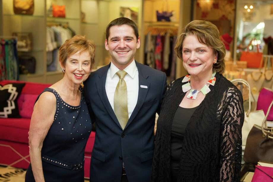 Evelyn Leightman, left, Seth Caplan and Beth Wolff Photo: Courtesy Photo / 2013 Wilson Parish
