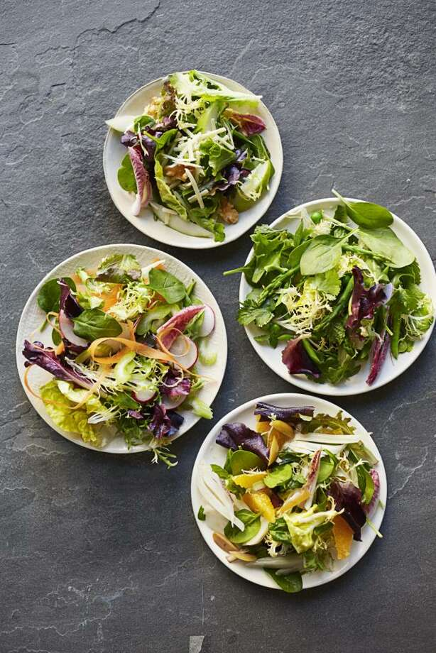 Spring Root Veggies Salad recipe from Good Housekeeping. Photo: Con Poulos / ONLINE_YES