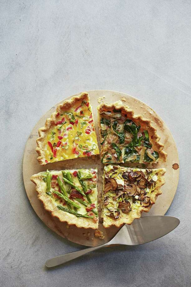 Mushroom and Zucchini Make-Ahead Quiche recipe from Good Housekeeping. Photo: Con Poulos / ONLINE_YES