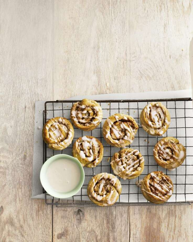 Almond Cinnamon Buns recipe from Country Living. Photo: Andrew Purcell / ONLINE_YES