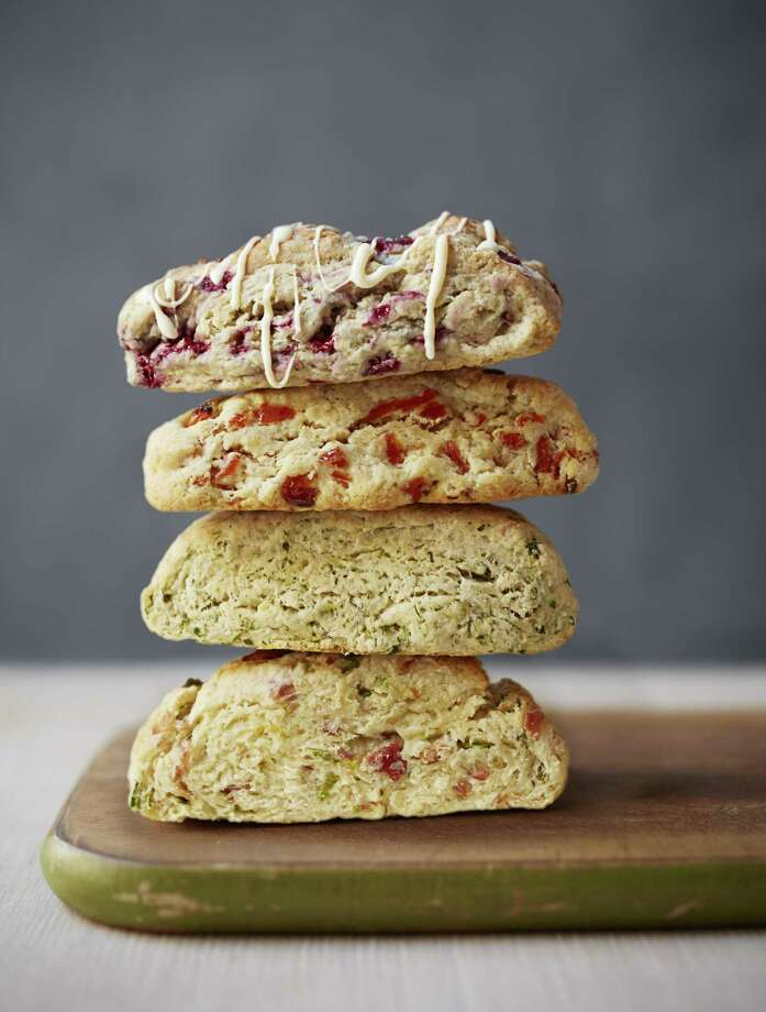Lemon Apricot Scones recipe from Good Housekeeping. Photo: Con Poulos / ONLINE_YES