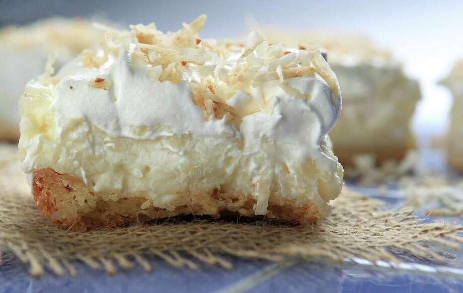Coconut Cream Pie Bars are rich and flavorful. Photo: Mayra Beltran, Staff / © 2014 Houston Chronicle