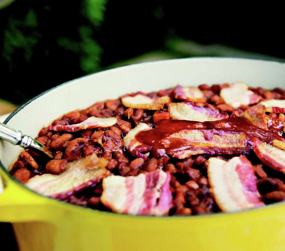 Campfire Beans from the Texas Food Bible