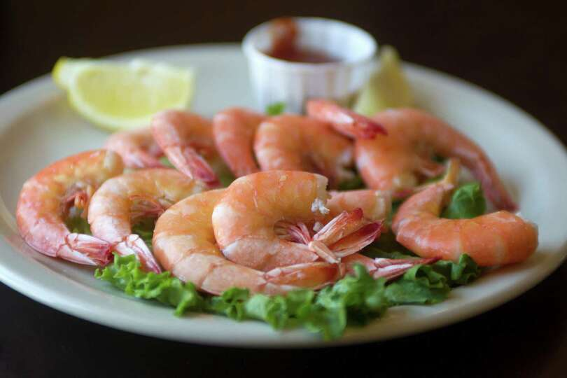 Peel-and-eat shrimp remain one of BB's more winning shrimp dishes ...