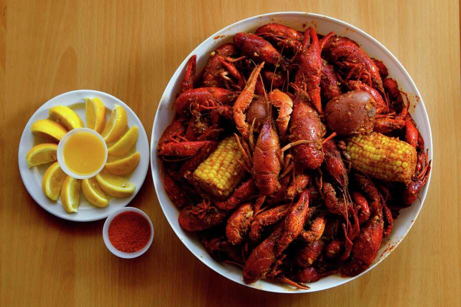 Cooks can get creative with crawfish (recipes on Page F4) or cook them up for a simple backyard boil. Photo: Cody Duty, Staff / © 2013 Houston Chronicle