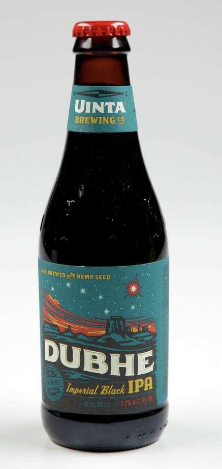 A bottle of Dubhe Imperial Black IPA from Uinta Brewing Co. shown Thursday, Jan. 30, 2014, in Houston. ( Melissa Phillip / Houston Chronicle ) Photo: Melissa Phillip, Staff / © 2014  Houston Chronicle
