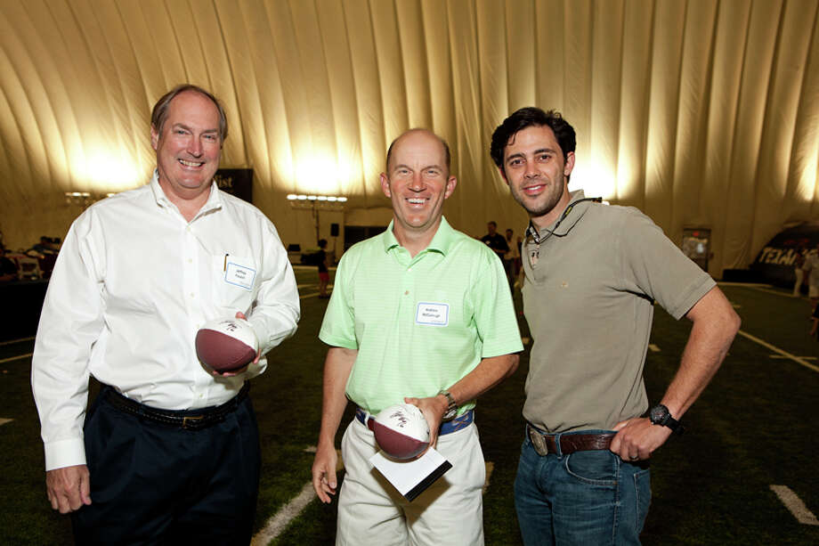 Jeff Foutch, Andrew McCullough, Chair, David A. Cockrell Photo: Jenny Antill Photography / ONLINE_YES
