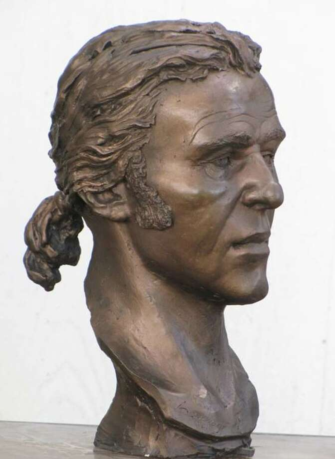 The facial model of C. Berange, a French sailor who died during a 1689 shipwreck in Matagorda Bay, was constructed by forensic sculptor Amanda Danning in an earlier project. Photo: Museum of the Coastal Bend