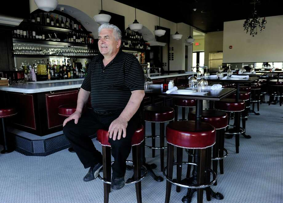 Agim Ismaili, owner of Mazzo, Mozzarella & Wine Bar is opening his restaurant this week at 32 Newtown Road in Danbury, Conn., Tuesday, May 6, 2014. Photo: Carol Kaliff / The News-Times