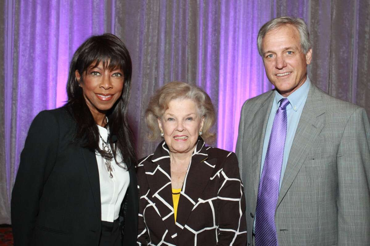 Natalie Cole, from left, June Waggoner, and Rob Arnold