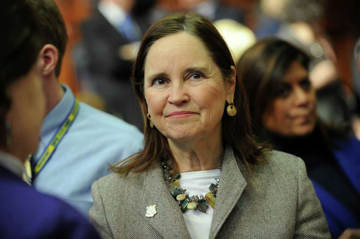 Democrat Denise Merrill, in her first term as secretary of the state, testified in support of Connecticut joining a compact of 11 other states that would award electoral votes based on the popular vote.