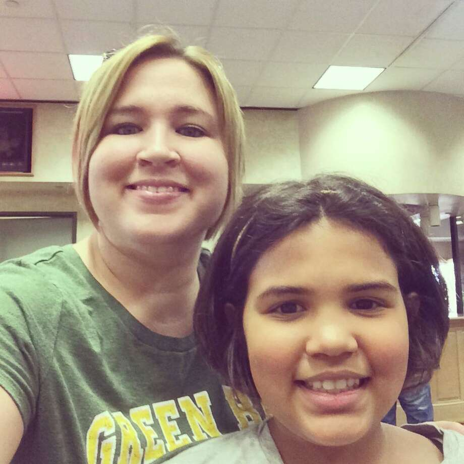 "Cayla Jones: ""Me and my oldest daughter, Arieona from Silsbee! I always get the ""oh my, she's your mini me"" when people see us together!"""