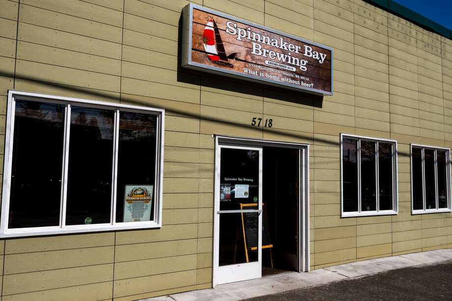 Spinnaker Bay Brewing, 5718 Rainier Ave. S., Hillman City: Spinnaker Bay is fully lady-owned and operated, a rarity in the beer business. Brewing runs in the family more than 100 years strong for one of the co-founders, so good beer is in Spinnaker Bay's DNA. Grab a pint of one of the spring seasonals, like the toasted coconut porter or triple IPA, and nosh on goods from one of the rotating food trucks that capitalize on your need for food to soak up the suds. Photo: JORDAN STEAD, SEATTLEPI.COM