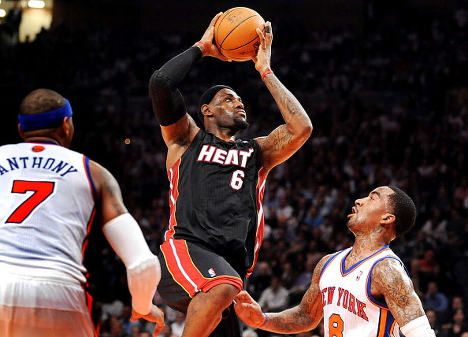 2011-12 — LeBron James, Miami Photo: Sun Sentinel, MCT Via Getty Images / 2012 MCT