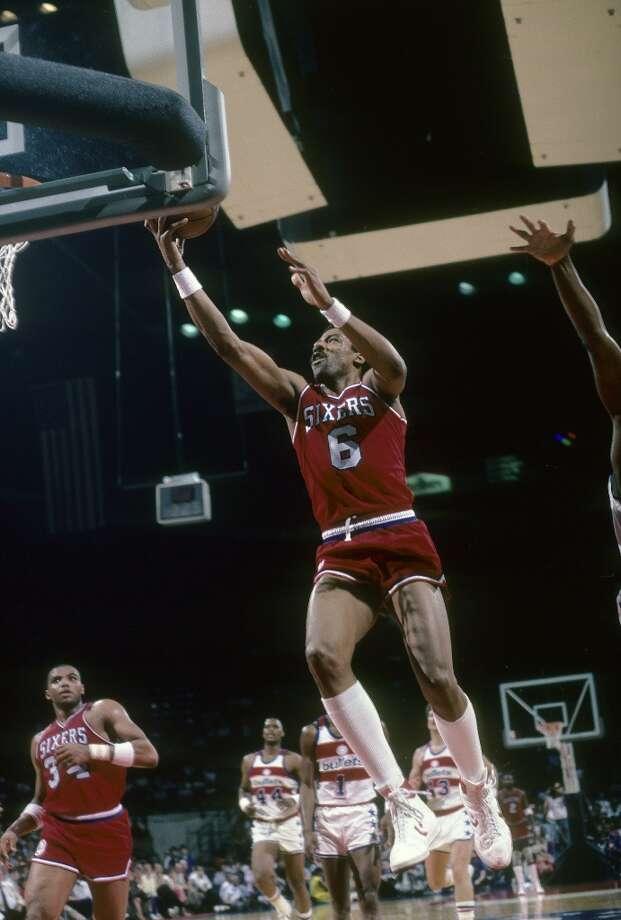 1980-81 — Julius Erving, Philadelphia 76ers Photo: Focus On Sport, Getty Images