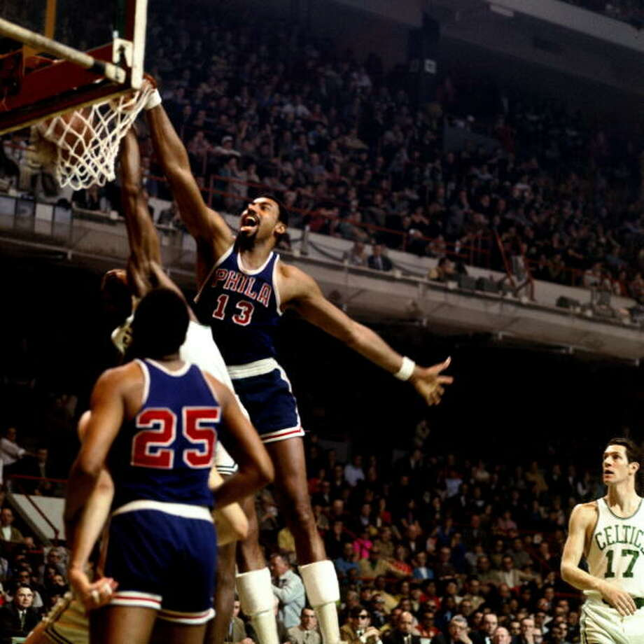 1966-67 — Wilt Chamberlain, Philadelphia 76ers Photo: Dick Raphael, NBAE/Getty Images / 1967 NBAE