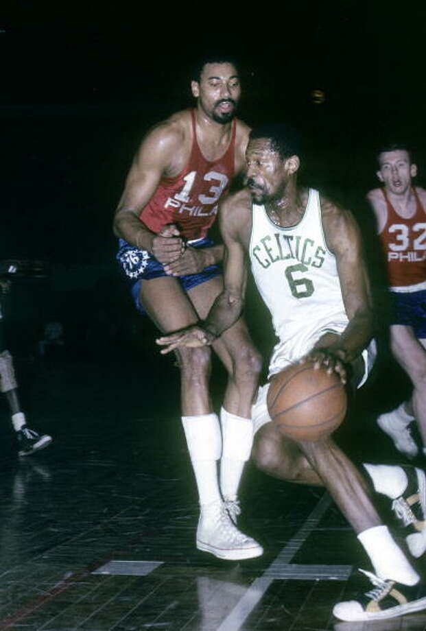 1964-65 — Bill Russell, Boston Photo: Focus On Sport, Getty Images / 2009 Focus on Sport