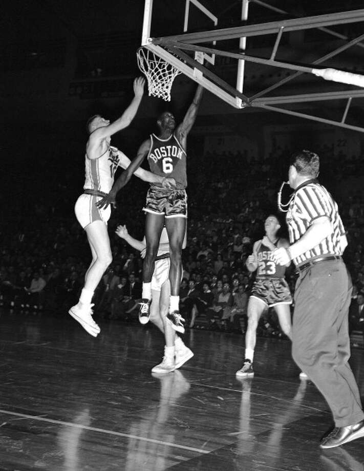 1957-58 — Bill Russell, Boston Photo: The Stevenson Collection, NBAE/Getty Images / 2012 NBAE