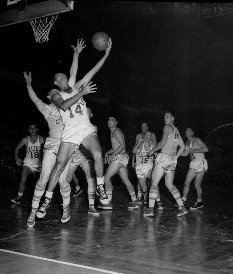 1956-57 — Bob Cousy, Boston Photo: Anonymous, AP