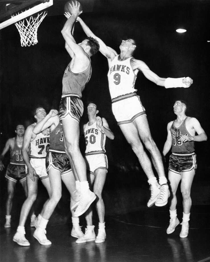 1955-56 — Bob Pettit, St. Louis Photo: AP