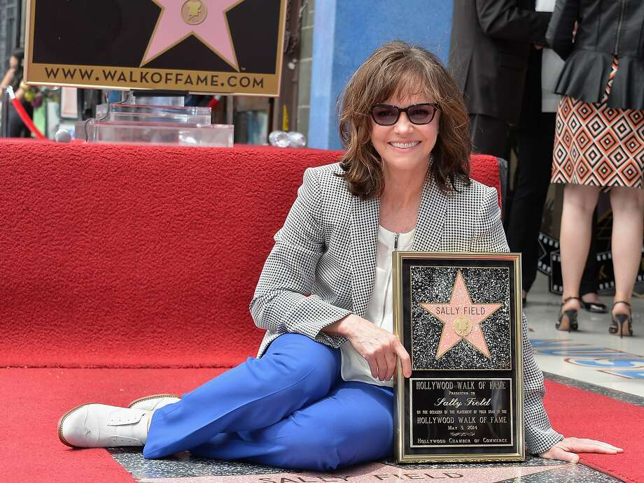 We like you. We really like you: Actress Sally Field receives the 2,524th Star on the 
