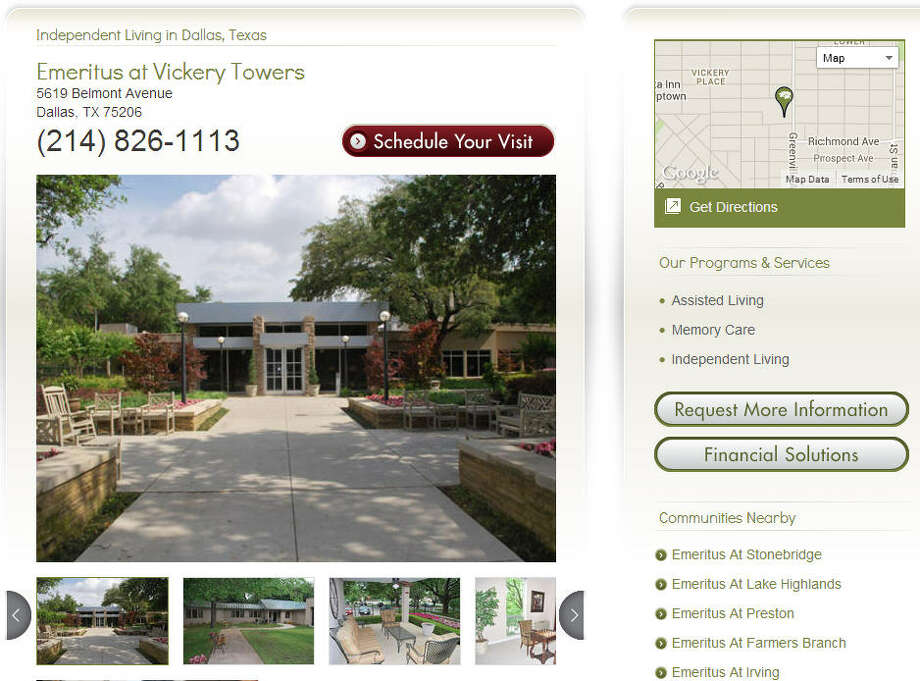 Emeritus at Vickery Towers (Dallas)Announced April 7 (effective June 6)Employees: 127 Photo: Emeritus