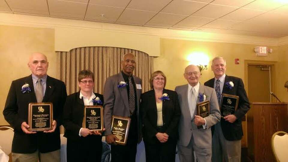 On April 26, the Alumni Association of the Rensselaer School District held its annual Hall of Fame i