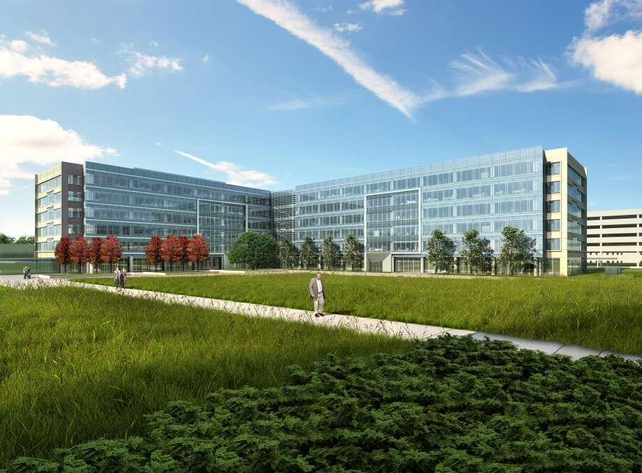 Rendering of the FMC Technologies campus at Generation Park. Photo: Gensler