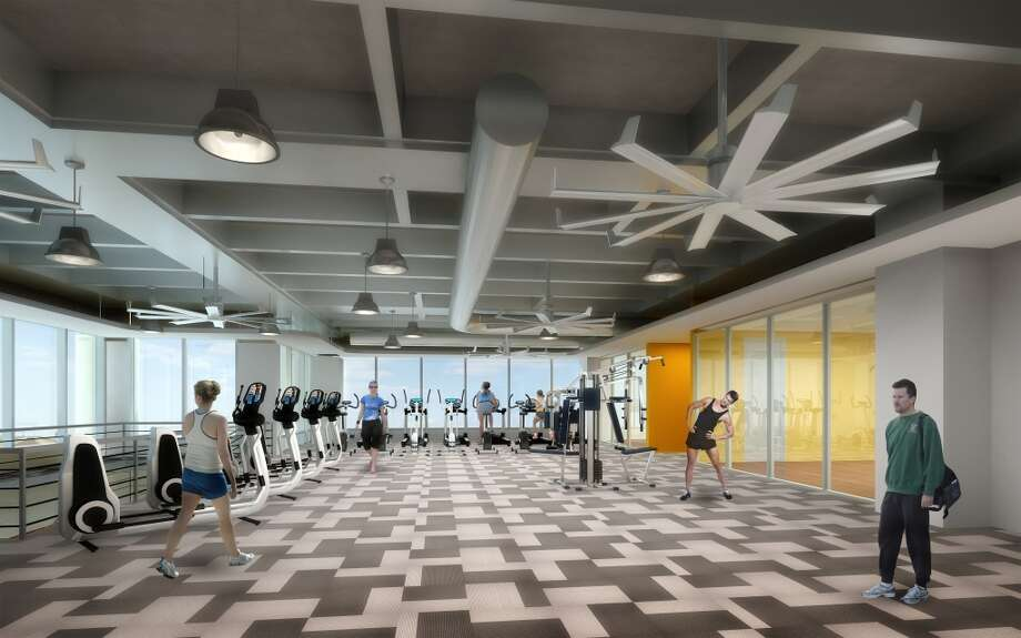 Areas for fitness will be part of the campus. Photo: Gensler