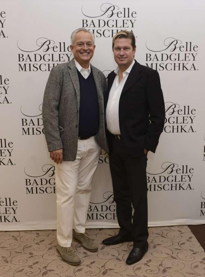 Fashion designers Mark Badgley and James Mischka are the team behind the A-list fashion house Badgley Mischka, and a team in their personal lives as well. The duo were wed in 2013 after 28 years as a couple. Photo: Vivien Killilea