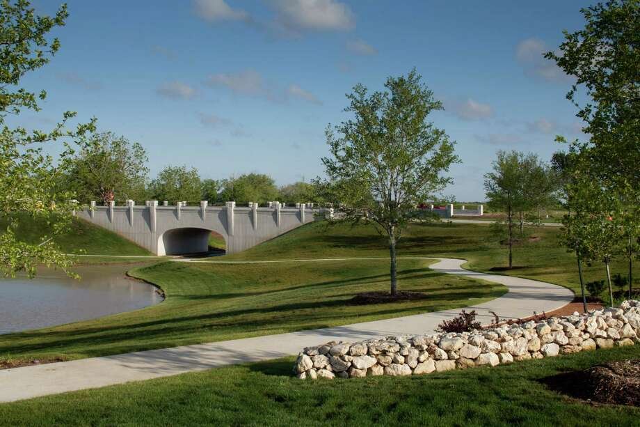 "The West Houston Association recently recognized Fort Bend's Aliana as a ""Quality Planned Development."" The development is landscaped to resemble Ireland."