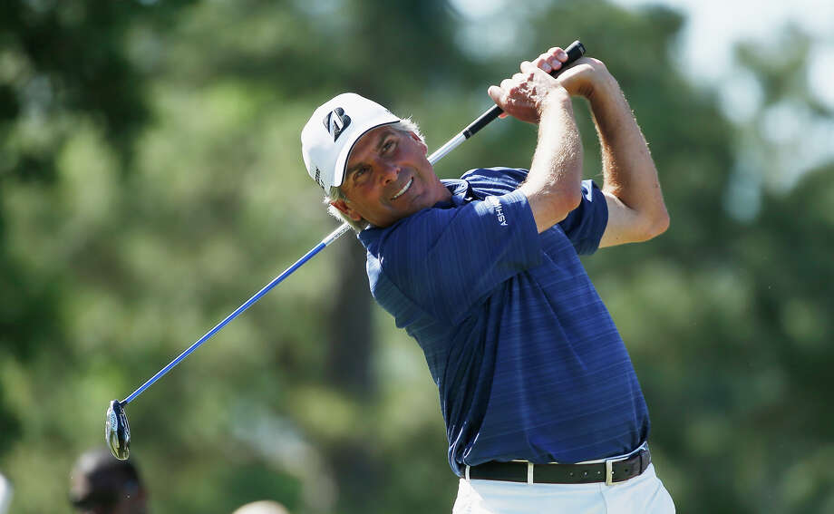 Fred Couples, who won the PGA's 1992 Masters, played for the University of Houston gold team before going pro in 1980.RELATED: Celebrity alumni of 28 Texas universities Photo: Scott Halleran, Getty Images / 2014 Getty Images