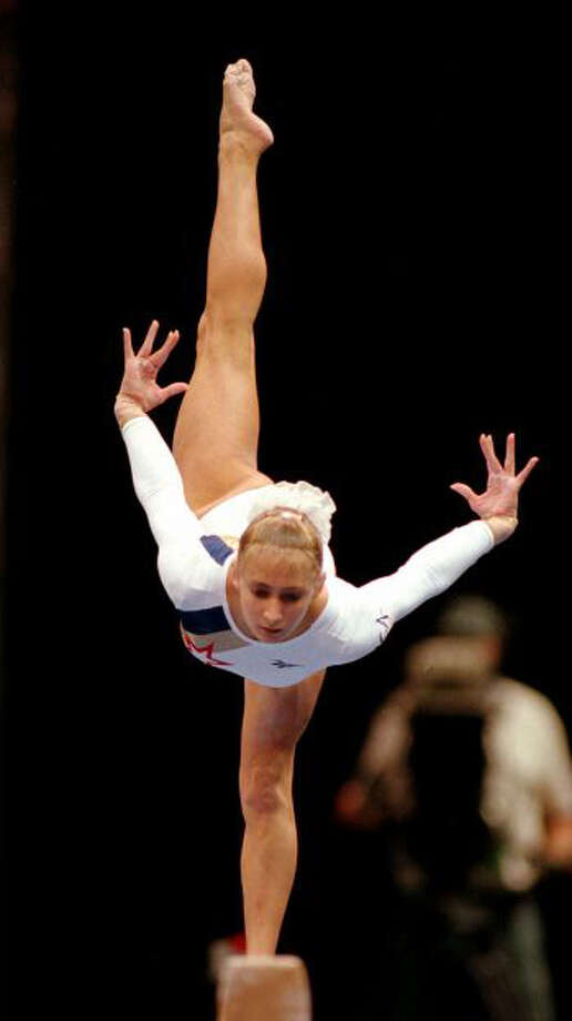 Olympic gymnast Shannon Miller graduated from the University of Houston in 2003 with a B.B.A. in Marketing and Entrepreneurship.RELATED: Celebrity alumni of 28 Texas universities Photo: Boston Globe, Getty Images