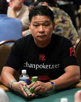 Professional poker champ Johnny Chan majored in hotel and restaurant management at the University of Houston before dropping out to pursue professional gambling in Las Vegas.RELATED: Celebrity alumni of 28 Texas universities Photo: Ethan Miller, Getty Images / 2006 Getty Images