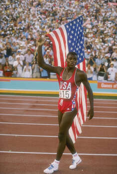 Famed Olympian Carl Lewis attended the University of Houston.RELATED: Celebrity alumni of 28 Texas universities Photo: Tony Duffy, Getty Images / Getty Images North America