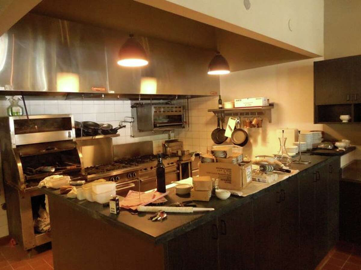 It may be messy now, but the chefs will be happy when the bigger kitchen is done