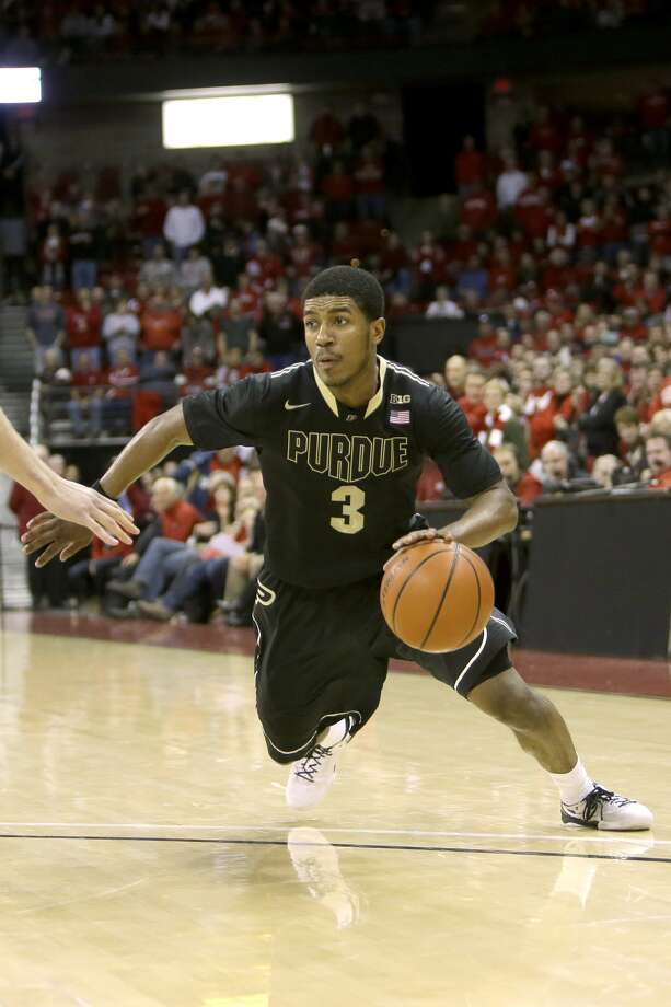 Ronnie Johnson, Purdue's second-leading scorer last season, is thinking about joining new head coach Kelvin Sampson in Houston. Photo: Mike McGinnis/Getty Images