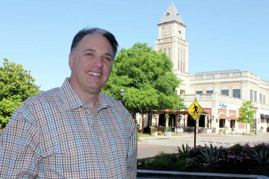 Lance LaCour, president/CEO of the Katy Area Economic Development Council, said attractions such as LaCenterra at Cinco Ranch are reasons for the community's attraction to homeowners. Photo: Suzanne Rehak, Freelance Photographer