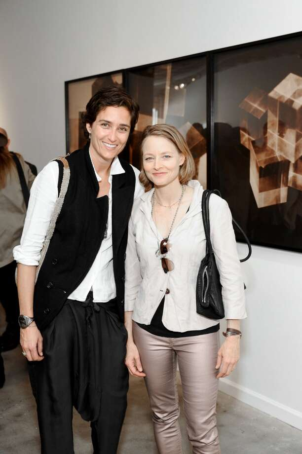 Actress and photographer Alexandra Hedison and Acacemy Award-winning director and actor Jodie Foster were married in April, 2014. Foster has two sons from a previous relationship. Photo: Stefanie Keenan, Getty Images