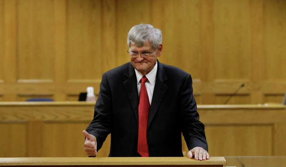 Panola County District Attorney Danny Buck Davidson agreed to Bernie Tiede's release Tuesday in a Carthage courtroom. Photo: LM Otero, STF / AP