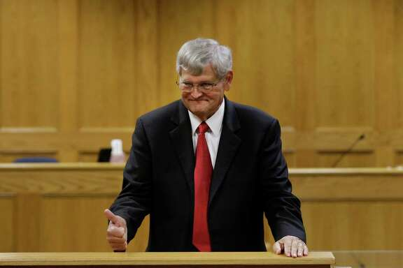 Panola County District Attorney Danny Buck Davidson agreed to Bernie Tiede's release Tuesday in a Carthage courtroom.