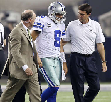 "Cowboys QB Tony Romo had back surgery in December, but Jerry Jones said Tuesday, ""We feel good about Tony's health."" Photo: Edward A. Ornelas / San Antonio Express-News / © 2012 San Antonio Express-News"