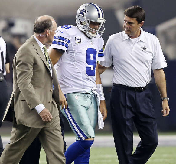 "Cowboys QB Tony Romo had back surgery in December, but Jerry Jones said Tuesday, ""We feel good abo"