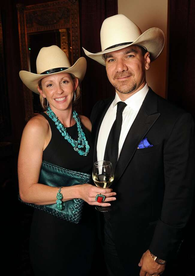 Aimee and Jay Flores at the Texas Oilman's Gala. Photo: Dave Rossman, For The Houston Chronicle