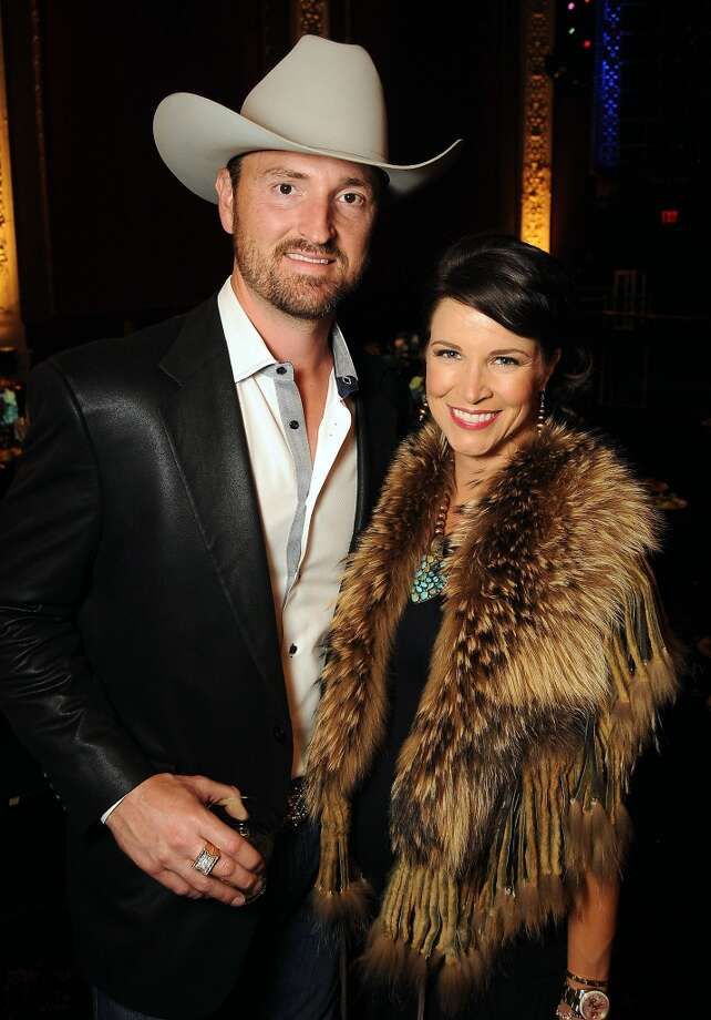 Ashley and Dan Henderson at the Texas Oilman's Gala. Photo: Dave Rossman, For The Houston Chronicle