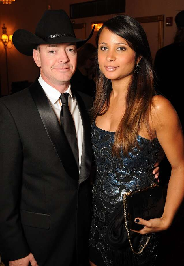 Fernanda and Mark Aswell at the Texas Oilman's Gala. Photo: Dave Rossman, For The Houston Chronicle