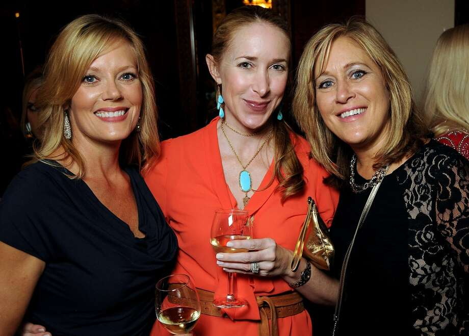 Dawn Phillips, left, Jenifer Porter and Janine Hurlburt at the Texas Oilman's Gala. Photo: Dave Rossman, For The Houston Chronicle