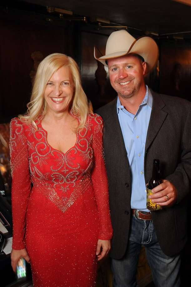 Birgit Kamps and Steve Scott at the Texas Oilman's Gala. Photo: Dave Rossman, For The Houston Chronicle
