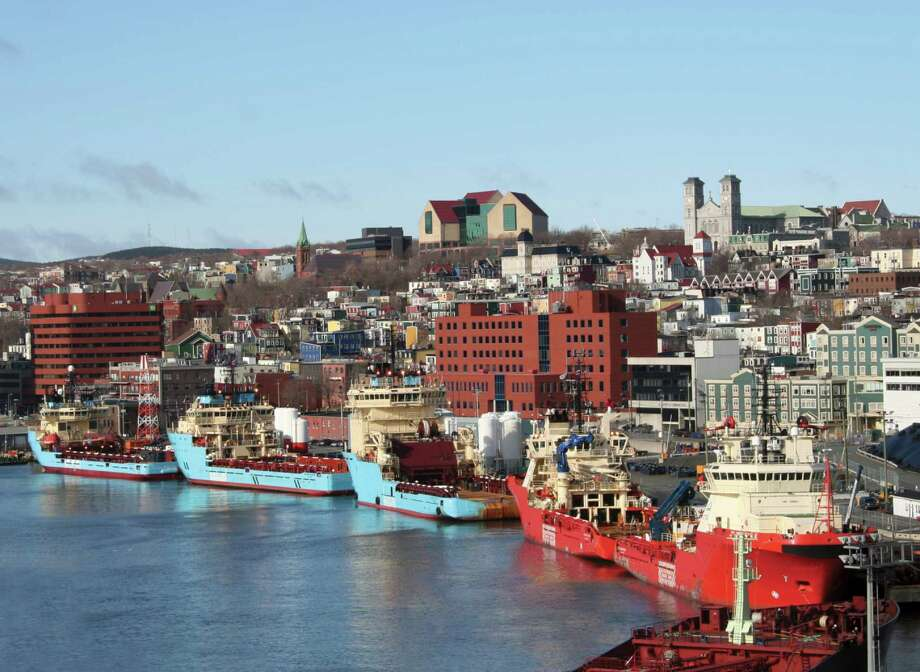 The Port of St. John's, Newfoundland and Labrador, is a supply base for Canada's East Coast and its offshore energy operations. (Nalcor Energy photo) Photo: Nalcor Energy