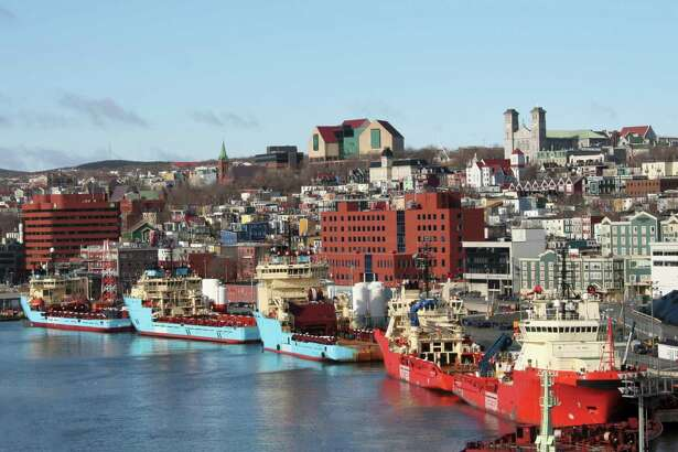 The Port of St. John's, Newfoundland and Labrador, is a supply base for Canada's East Coast and its offshore energy operations. (Nalcor Energy photo)